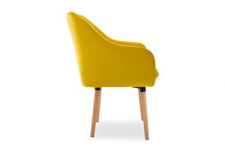 Stylowe Krzesło Bergen z podłokietnikami