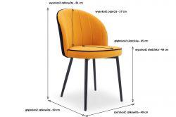 Krzesło Barokowe Margaret