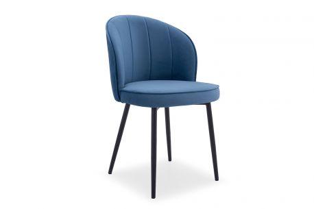 Designerskie krzesło tapicerowane ZICK - różne wzory