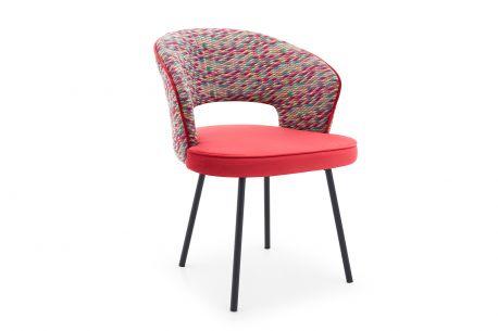 Krzesło Rabe Velvet Krzesła do salonu tanie