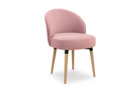 Krzesło Morty Pastel Pink
