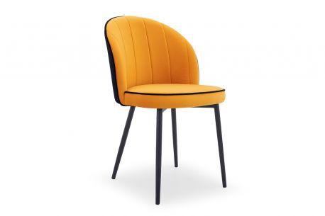 Designerskie krzesło tapicerowane ZICK - różne wzory.