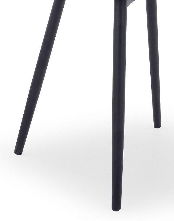 Nogi metalowe - czarne